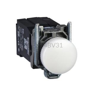 Kontrolka Schneider Electric o kolorze Białym 110...220VAC XB4BV31