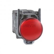 Kontrolka Schneider Electric o kolorze Czerwonym 110...220VAC XB4BV34