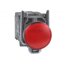 Kontrolka Schneider Electric o kolorze Czerwonym 230...240VAC XB4BV44