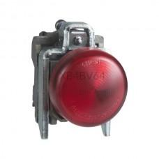 Kontrolka Schneider Electric o kolorze Czerwonym 250VAC XB4BV64