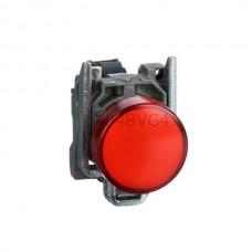 Kontrolka Schneider Electric o kolorze Czerwonym 110...220VAC XB4BVG4