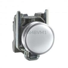 Kontrolka Schneider Electric o kolorze Białym 230...240VAC XB4BVM1