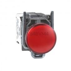 Kontrolka Schneider Electric o kolorze Czerwonym 230...240VAC XB4BVM4