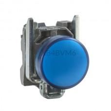 Kontrolka Schneider Electric o kolorze Niebieskim 230...240VAC XB4BVM6