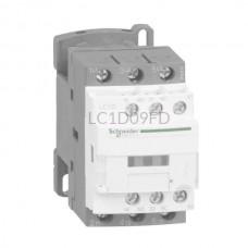 Stycznik 4 kW 3 styki zwierne 110VDC Schneider Electric LC1D09FD