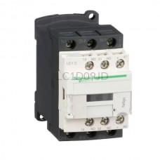 Stycznik 4 kW 3 styki zwierne 12VDC Schneider Electric LC1D09JD