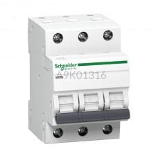 Wyłącznik nadprądowy Schneider Electric K60N-B16-3 A9K01316 3P B 16 A