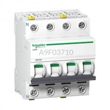 Wyłącznik nadprądowy Schneider Electric iC60N-B10-3N A9F03710 3P + N B 10 A