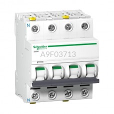 Wyłącznik nadprądowy Schneider Electric iC60N-B13-3N A9F03713 3P + N B 13 A