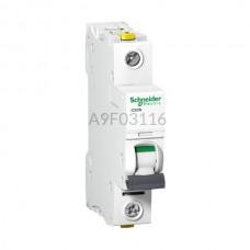 Wyłącznik nadprądowy Schneider Electric iC60N-B16 A9F03116 1P B 16 A