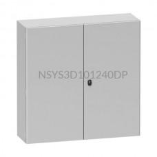Obudowa stalowa  Schneider Electric Spacial S3D 1000×1200×400mm IP55 NSYS3D101240DP
