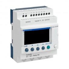 Przekaźnik Zelio Logic 6 wej. 4 wyj. przekaźnikowe SR2A101BD