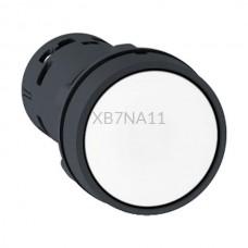 Przycisk pulpitowy biały Harmony XB7 XB7NA11 styk NO Schneider Electric