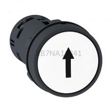 Przycisk pulpitowy biały Harmony XB7 XB7NA11341 styk NO Schneider Electric