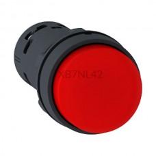 Przycisk pulpitowy czerwony Harmony XB7 XB7NL42 styk NC Schneider Electric