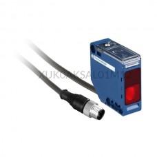 Czujnik optyczny Schneider Electric 0...30 m prostopadłościan 12...24 V DC PNP-NPN XUK0AKSAL01M12