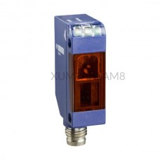 Czujnik optyczny Schneider Electric 0...10 m prostopadłościan 12...24 V DC NPN XUM0ANSAM8