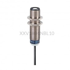 Czujnik ultradźwiękowy Schneider Electric 0,05m M18 12...24 VDC NPN XXV18B1NBL10