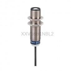 Czujnik ultradźwiękowy Schneider Electric 0,05m M18 12...24 VDC NPN XXV18B1NBL2