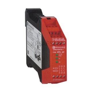 Przekaźnik bezpieczeństwa awaryjnego stopu 24 VAC lub 24 VDC Schneider Electric XPSAF5130