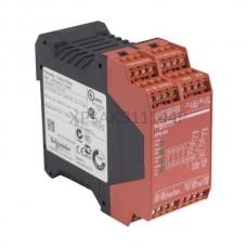 Przekaźnik bezpieczeństwa awaryjnego stopu 24 VAC lub 24 VDC Schneider Electric XPSAK311144P