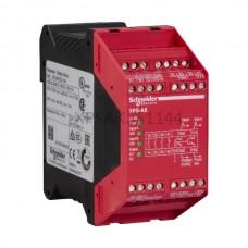 Przekaźnik bezpieczeństwa awaryjnego stopu 120 VAC Schneider Electric XPSAK351144
