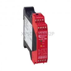 Przekaźnik bezpieczeństwa do monitorowania łączników magnetycznych 24 VDC Schneider Electric XPSDMB1132P