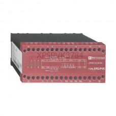 Przekaźnik bezpieczeństwa do monitorowania zaworów z cewkami o podwójnych korpusach  230 VAC Schneider Electric XPSPVK3784