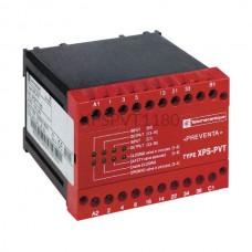 Przekaźnik bezpieczeństwa do monitorowania hydraulicznych zaworów na prasach liniowych 24 VDC Schneider Electric XPSPVT1180