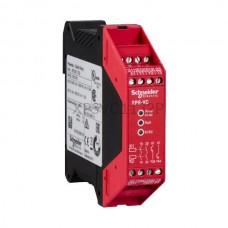Przekaźnik bezpieczeństwa do monitorowania wyłącznika 24 VDC Schneider Electric XPSVC1132P