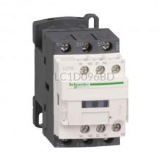 Stycznik 4 kW 3 styki zwierne 24VDC Schneider Electric LC1D096BD