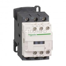 Stycznik 4 kW 3 styki zwierne 110VDC Schneider Electric LC1D096FD