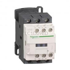 Stycznik 4 kW 3 styki zwierne 48VDC Schneider Electric LC1D09ED