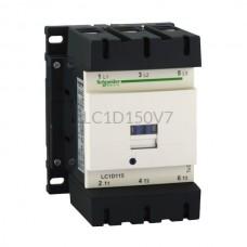 Stycznik 75 kW 3 styki zwierne 400VAC Schneider Electric LC1D150V7