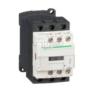 Stycznik 7,5 kW 3 styki zwierne 24VDC Schneider Electric LC1D18BD