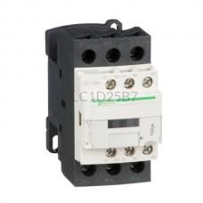 Stycznik 11 kW 3 styki zwierne 24VAC Schneider Electric LC1D25B7