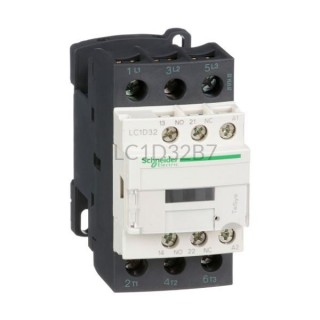 Stycznik 15 kW 3 styki zwierne 24VAC Schneider Electric LC1D32B7