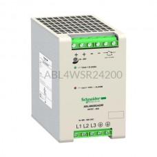 Zasilacz na szynę Schneider Electric 480W 340...550VAC 24VDC ABL4WSR24200