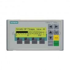 """Panel HMI 3"""" OP73 Siemens 6AV6640-0BA11-0AX0"""