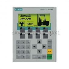 """Panel HMI 4,5"""" OP77B Siemens 6AV6641-0CA01-0AX1"""