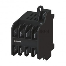 Stycznik Siemens Sirius 4kW 8,4A AC-3 3P 1NO 24 VDC 3TG1010-0BB4