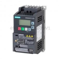 Falownik Sinamics V20 6SL3210-5BB11-2UV1 Siemens 1-fazowy o mocy 0,12 kW