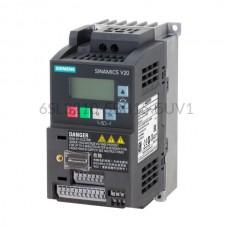 Falownik Sinamics V20 6SL3210-5BB15-5UV1 Siemens 1-fazowy o mocy 0,55 kW