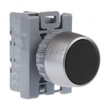 Przycisk pulpitowy czarny SP22-AKCZ-21 2 NC 1 NO Spamel
