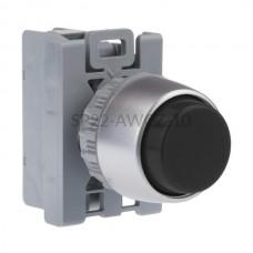 Przycisk pulpitowy czarny SP22-AWCZ-10 1NO Spamel