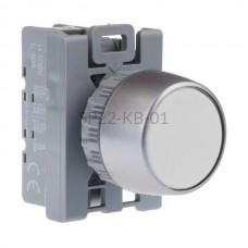 Przycisk pulpitowy biały SP22-KB-01 1 NC Spamel