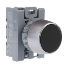 Przycisk pulpitowy czarny SP22-KCZ-02 2 NC Spamel