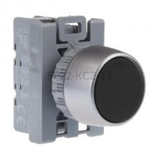 Przycisk pulpitowy czarny SP22-KCZ-11 1 NC 1 NO Spamel