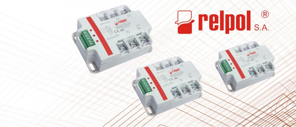 Przekaźniki RSR62 Relpol