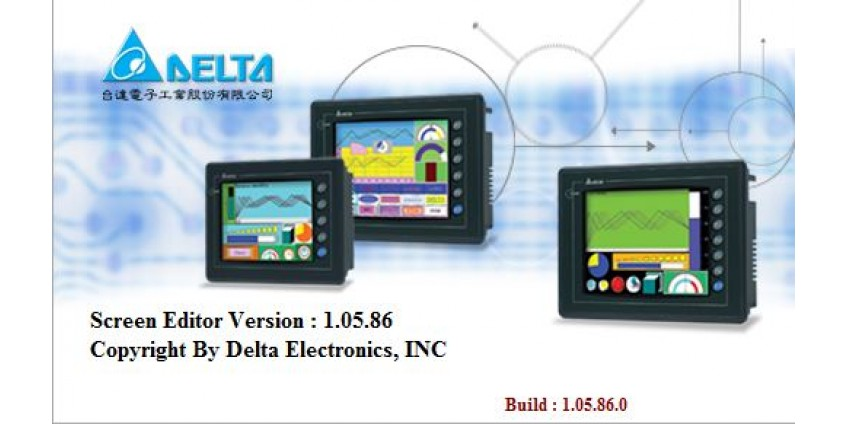 Czym zaprogramować starsze panele hmi Delta Electronics